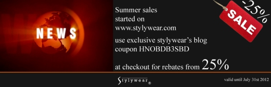 www.stylywear.com - stylywear's blog exclusive summer sales