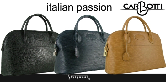 Italian leathers at your finger tips on www.stylywear.com